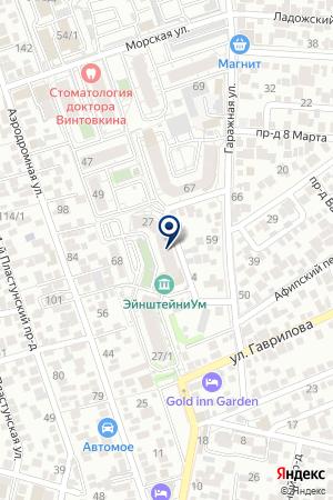 ПРОДОВОЛЬСТВЕННЫЙ МАГАЗИН ПОЛЮС на карте Краснодара
