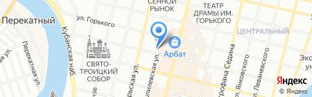 Банкомат Уралсиб Банк на карте Краснодара