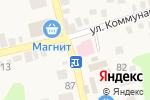 Схема проезда до компании Империя белья в Новотитаровской