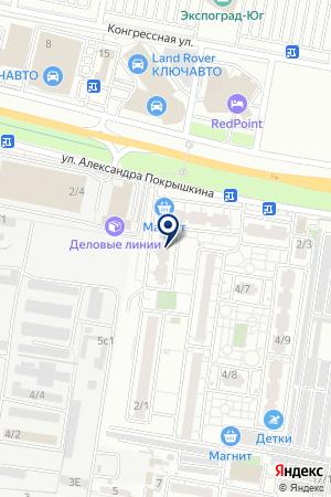 Для семьи на карте Краснодара
