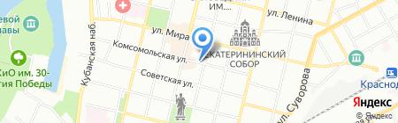 Studio 1 на карте Краснодара