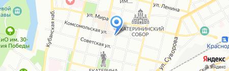Детский сад №14 на карте Краснодара