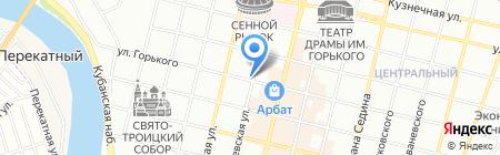 Рекламно-производственная компания на карте Краснодара