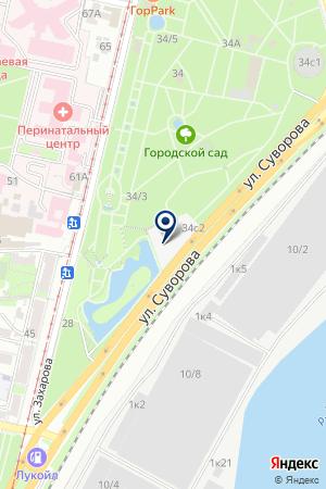 РЕКЛАМНОЕ АГЕНТСТВО БЕНЕФИС-ЮГ на карте Краснодара