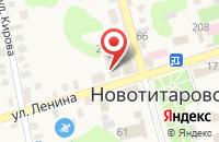Схема проезда до компании Мастерская по ремонту телевизоров в Новотитаровской