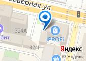 Фирма по переводу документов на карте