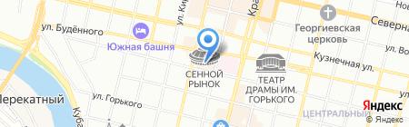 Камелия на карте Краснодара