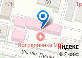 Городская поликлиника №7 на карте