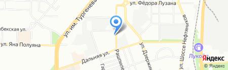 Рекламаст на карте Краснодара