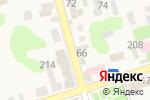 Схема проезда до компании Магазин цветов в Новотитаровской