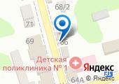 Магазин кожгалантереи на Советской (Новотитаровская) на карте