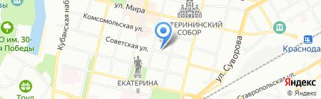Кубань Риэлт на карте Краснодара