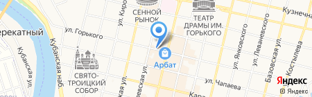 Green на карте Краснодара