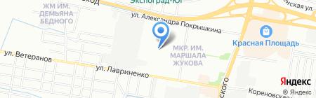 Beauty Land на карте Краснодара
