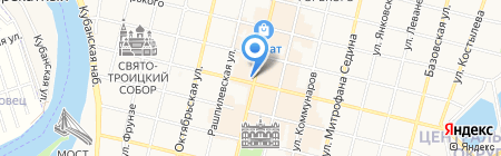 Mode на карте Краснодара