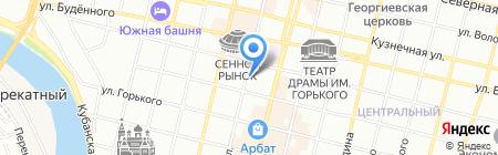 Стром-Инерт на карте Краснодара