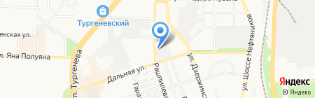 Хилти Дистрибьюшн Лтд на карте Краснодара