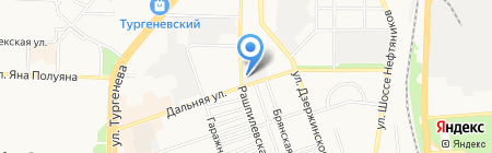 Аккумулятор+ на карте Краснодара