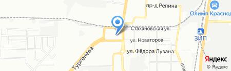Гешефт на карте Краснодара