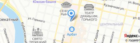 Геодезическая фирма на карте Краснодара