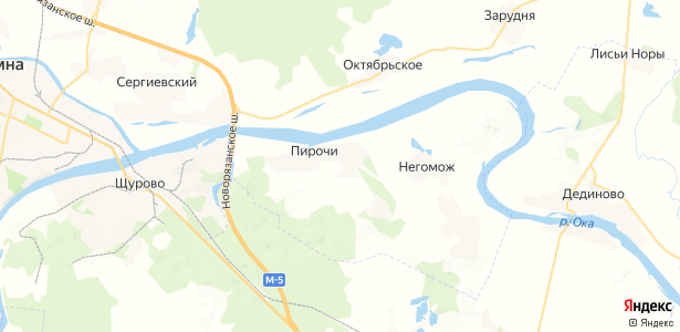 Пирочи на карте