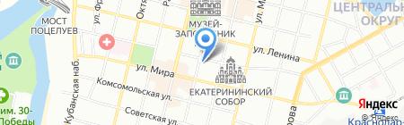 Обд-Инвест на карте Краснодара