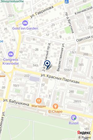 Клиника репродукции OXY-center на карте Краснодара