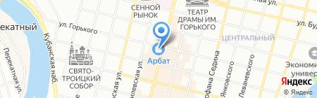 FreeDom на карте Краснодара