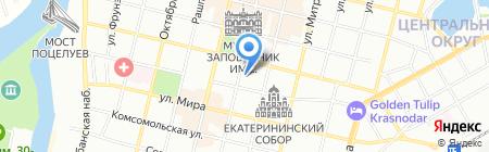 СтройБизнесЮг на карте Краснодара