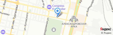 Цифровая Орбита на карте Краснодара