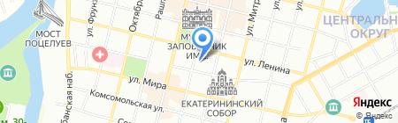 Агентство развития Краснодарского края на карте Краснодара