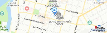 КТК на карте Краснодара