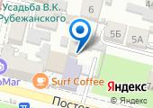 Автошкола-Перекресток, НЧОУ на карте