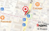 Схема проезда до компании Редакционно-Издательский Центр  в Краснодаре