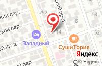 Схема проезда до компании Маршрутное Телевидение Краснодар в Краснодаре