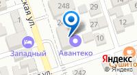 Компания Гефест Проекция на карте
