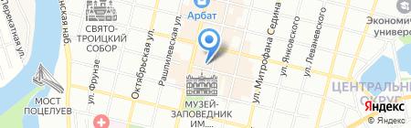 Везёт на карте Краснодара