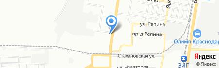 TIVISTO.RU на карте Краснодара