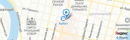 Кофевар Капучинофф на карте Краснодара
