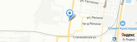 RED-Sтудия на карте Краснодара