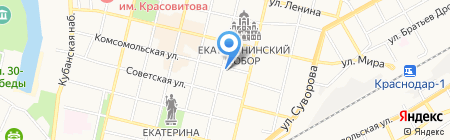 Кубаньтурист на карте Краснодара