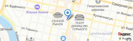 Банкомат Всероссийский банк развития регионов на карте Краснодара