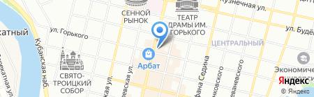 Кружка-Подружка на карте Краснодара