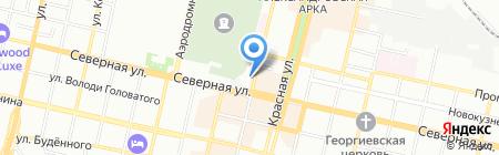 Adecco Group Russia на карте Краснодара