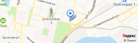 Бьюти на карте Краснодара