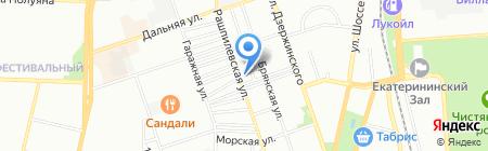 Статус на карте Краснодара