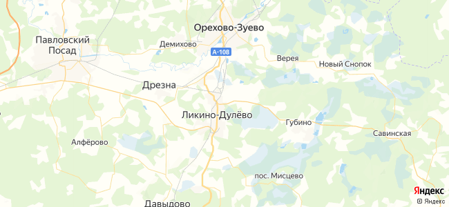 23 автобус в Орехово-Зуево