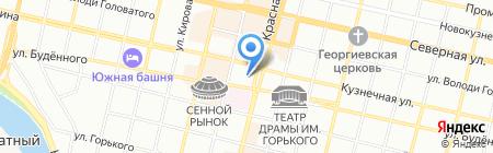 Джо+Маруся на карте Краснодара