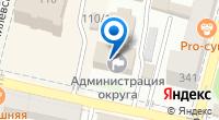 Компания Аппарат полномочного представителя Президента РФ в Южном Федеральном округе по Краснодарскому краю на карте