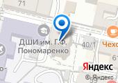 Адвокатский кабинет Гончарова В.А. на карте